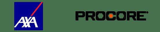 AXA-Procore-logos