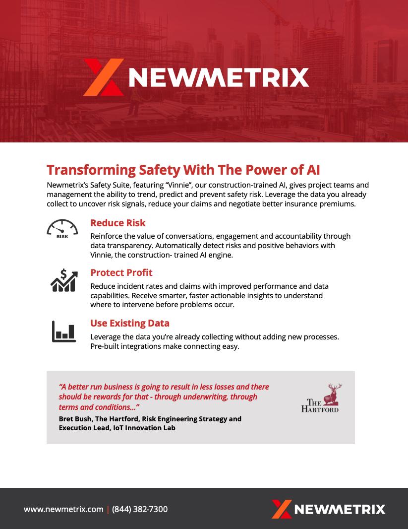 Newmetrix overview